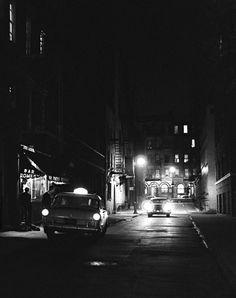 """Bar Romero, Greenwich Village"" - New York - 1957 - photographer Duncan Hartley."