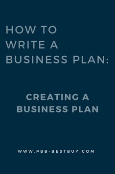 How To Write A Business Plan: Creating A Business Plan. Grow Your Business With PBB Best Buy. Learn more on our main website! Creating A Business Plan, Growing Your Business, Business Planning, Business Tips, Online Business, Internet Marketing, Online Marketing, Digital Marketing, Cool Things To Buy