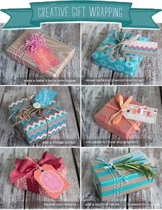 Creative Gift Wrapping for your Summer Packages