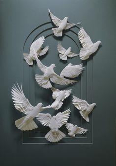 Paper Art #paper #art ... <3 www.24kzone.com
