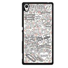 Tyler Oakley Arts TATUM-11510 Sony Phonecase Cover For Xperia Z1, Xperia Z2, Xperia Z3, Xperia Z4, Xperia Z5