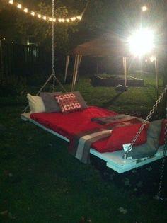 Tree Bed Swing - DIY!