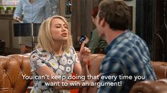 Look's like Riley is catching on to Danny's plan. | Baby Daddy Gifs