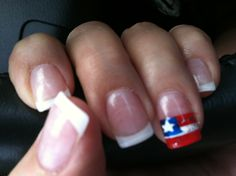 Patriotic nails for July 4th!!!