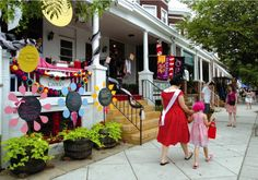 "Hampden, Baltimore, MD...one of the nation's best ""hipster"" neighborhoods according to Forbes"