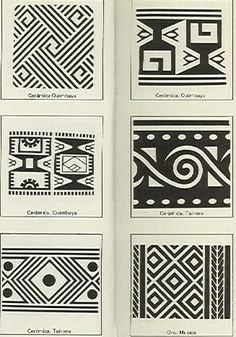 Dibujos sobre arte precolombino - Antonio Grass:
