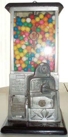 1940's gumball machine