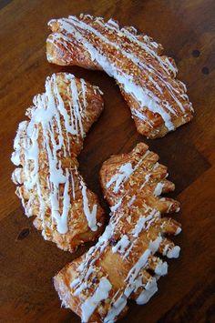 Homemade Bear Claw Recipe-- reminds me of Grandma Ruth.