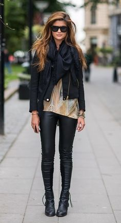 hair and jacket. and leggings. and boots. and body, while I'm wishing for things :)
