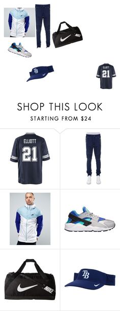 """""""Team Nike"""" by jazzy-art ❤ liked on Polyvore featuring NIKE, Balmain, men's fashion, menswear and LITT"""