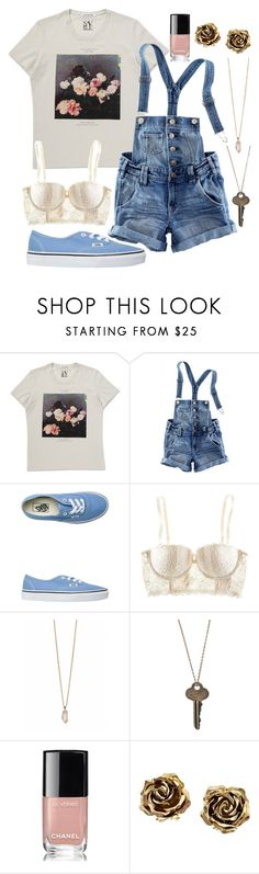 """""""Untitled #1393"""" by freedom2095 ❤ liked on Polyvore featuring H&M, Vans, Zoya, The Giving Keys, Chanel and Tiffany & Co."""