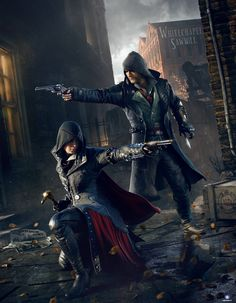ArtStation - Assassin's Creed Syndicate Keyart, Hugo Deschamps