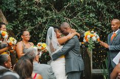 Train-themed California Wedding with Gray Details & Pops of Yellow by Luminaire Images: Lockell + Chris