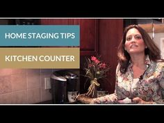 Home Staging Tips: Kitchen Counters.#homestaging #kitchenstaging #stagingkitchencounters