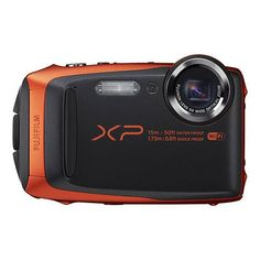 Fujifilm FinePix XP90 16.4MP Digital Camera Orange Full-HD WiFi