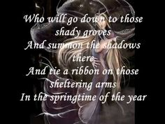 Loreena McKennitt - The Mummer's Dance - I absolutely LOVE this :)