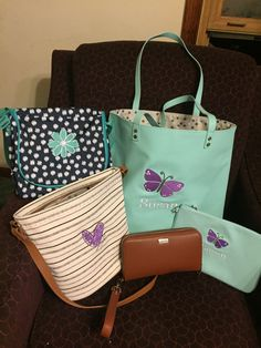 Around Town Tote And All About The Benjamins Wallet In