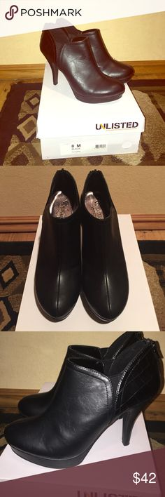 Unlisted Size 8 Blac