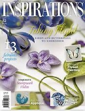 Inspirations embroidery magazine #82 NEW free shipping