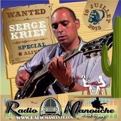 Serge Kief, 10 juillet 2015 , in www.radiomanouche.com