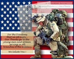 Happy 4th Of July Military Quotes