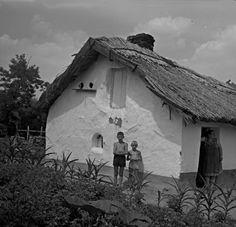A 19. század elején épített csőszház, földszint alá mélyített padozattal. Central Europe, Old Pictures, Historical Photos, Homeland, Hungary, Budapest, Ale, Decoupage, Old Things