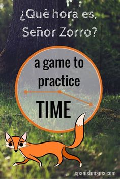 Really fun game (best played outside or in a gym) for practicing asking and telling the time in Spanish. My students love this game! Vocabulary like ¿Qué hora es?, son las..., es la... are practiced.