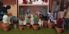 Amigurumi cacti e succulente - piante semprevive : Accessori casa di giovanna-cargnelli