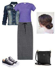 """Untitled #502"" by brendansara1018 on Polyvore featuring Mexx, Bergans, WithChic, Converse and Coach"