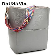 DAUNAVIA Luxury Handbags Women Bag Designer Brand Famous Shoulder Bag Female Vintage Satchel Bag Pu Leather Gray Crossbody ND549 // FREE Worldwide Shipping! //     #hashtag4