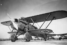 The Fiat CR.32 was an Italian biplane fighter used in the Spanish Civil War and WWII. This nimble little Fiat was compact, robust & highly maneuverable and gave impressive displays all over Europe in the hands of the Pattuglie Acrobatiche.[3] The CR.32 fought in North and East Africa, in Albania & in the Mediterranean theatre. The CR.32 saw service in the air forces of China, Austria, Hungary, Paraguay & Venezuela. BFD