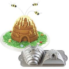 Where to find the bees on top?