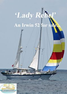 Although originally built in 1983, Lady Rebel has the look and feel of a 2007 yacht after a complete rebuild and refurbishing that was completed in September of that same year. She had new floors, sinks and faucets, electric macerator heads, custom foam cushions, and 12V lighting. This model is a Series II with the spacious master stateroom aft with queen berth, two guest staterooms, three heads and roomy salon that is two steps up from the galley. Faucets, Sinks, Used Sailboats For Sale, Sailboat Cruises, Western Caribbean, Yacht For Sale, Foam Cushions, Rebel, Floors