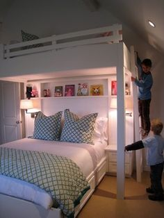 """See our web site for more info on """"bunk bed ideas for small rooms"""". It is actually an excellent spot to learn more. Cheap Bunk Beds, Bunk Beds Small Room, Wooden Bunk Beds, Bunk Beds With Stairs, Cool Bunk Beds, Bunk Rooms, Kids Bunk Beds, Small Rooms, Small Spaces"""