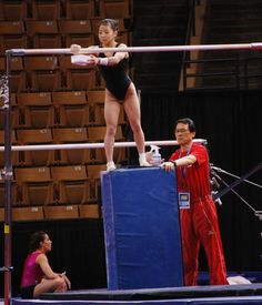 Asuka Teramoto (Japan) Podium Training for the 2013 American Cup