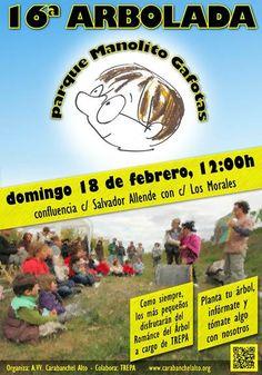 Madrid: Arbolada Parque Manolito Gafotas, Asociación de Vecinos de Carabanchel Alto, Ayuntamiento de Madrid, Arbolada, espacios habitables, la ciudad de l@s vecin@s