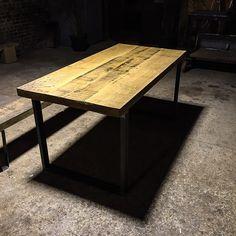 table basse faite sur mesure bois et metal finition a la demande produit design…