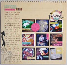 Paper and Pins. my handmade journey: DT layouts: New Hopscotch Collection from Kaisercraft My Scrapbook, Scrapbook Layouts, Hopscotch, Journey, Paper, Day, Projects, Blog, Handmade