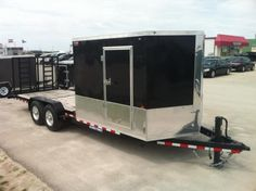 Image Result For Tnt Hybrid Enclosed Open Deck Steve Toy Haulers