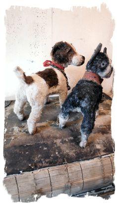 Antique Style ★new Detailed Design Hubley Fox Terrier Dog Vintage★ Whendi Bears | eBay