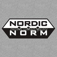 nordic norm  - T-Shirts & Hoodies by dennis william gaylor, custom illustrated posters, prints, tees. Unique bespoke designs by dennis william gaylor .:: watersoluble ::.