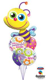 Birthday, baby, graduation and Valentine balloon bouquets featuring Qualatex® latex, Microfoil™ and Bubble balloons. Mothers Day Balloons, Valentines Balloons, Ballon Decorations, Balloon Centerpieces, Grandmother's Day, Qualatex Balloons, Bubble Balloons, Balloon Bouquet, Lets Celebrate