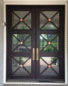 As a family owned business, We design and manufacture top quaility wrought iron doors, iron railing, lighting and windows over 15 years. Call Love That Door Iron Front Door, Best Front Doors, Double Front Doors, Glass Front Door, Front Entry, Door Entryway, Entrance Doors, Front Door Design, Exterior Doors