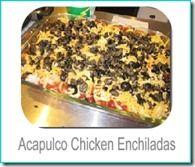 chicken enchiladas and other Gluten free meals on website