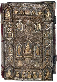 Евангелие напрестольное. Оклад - Москва, мастерские Кремля, 1568