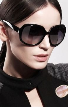 New Women Retro Vintage Shades Fashion Oversized Designer Sunglasses