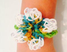 Spring Flower Bracelet by AutumnsBelleBoutique on Etsy