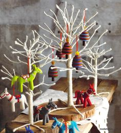 Roost Wooly Mini Trees – Modish Store