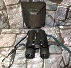 Nikon Travelite V 8-24x25 Zoom Binoculars Case Strap 18208074747 | eBay