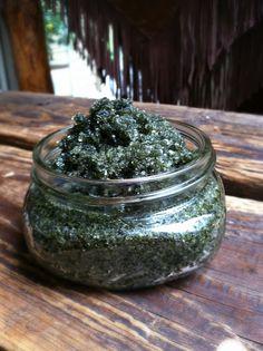 Seaside Bath Salt Soak {with spirulina and kelp}